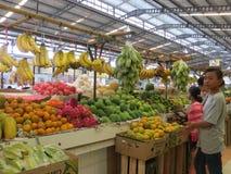 Modern livsmedelsbutikmarknad i Serpong Arkivbilder