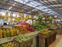 Modern livsmedelsbutikmarknad i Serpong Royaltyfri Bild