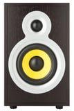 Modern ljudsignal högtalare royaltyfri fotografi