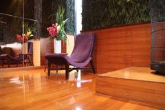 Modern lobby Stock Image