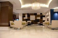 Modern lobby royaltyfria bilder