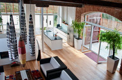 Modern Loft Stock Photography