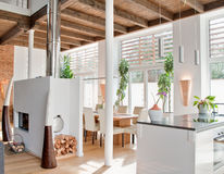 Modern Loft Stock Photos