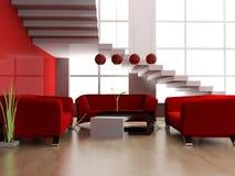 modern loft Arkivfoto