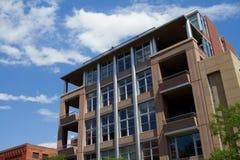 Modern Loft Building. Modern contemporary luxury loft in downtown Denver, Colorado Stock Photos