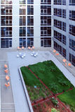 A modern loft courtyard stock photography