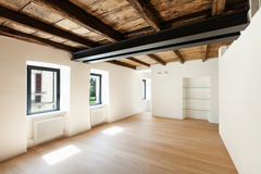 Modern loft, empty room Royalty Free Stock Images