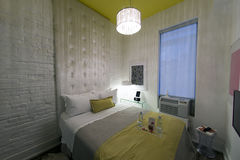 Modern Loft Hotel Room - be650 Toronto Stock Images