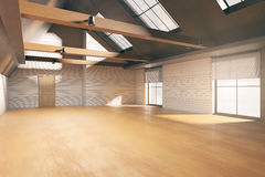 Modern loft interior Royalty Free Stock Images