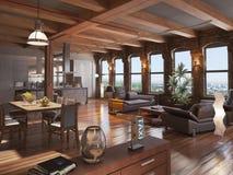 Modern loft Royalty Free Stock Images
