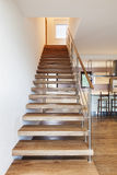 Modern loft, staircase view Stock Photography