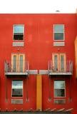 Modern lofts. Detail of a modern loft exterior Stock Images