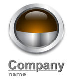 Modern logo Royalty Free Stock Photo