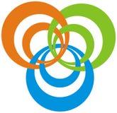 Modern logo royalty free stock image
