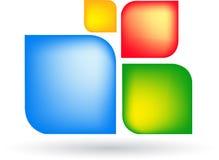 Modern logo Stock Photo