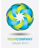 Modern logo design Royalty Free Stock Photo