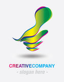 Modern logo design Royalty Free Stock Image
