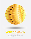 Modern logo design royalty free stock photography