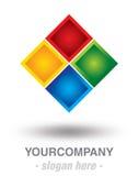 Modern logo design Stock Image