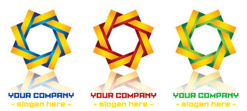 Modern logo design Stock Photography