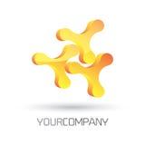 Modern logo design Royalty Free Stock Photos