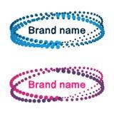 Modern logo design. New technology concept Royalty Free Stock Photos