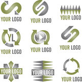 Modern Logo Icons Royalty Free Stock Images