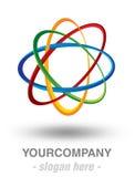 Modern logodesign Arkivfoton