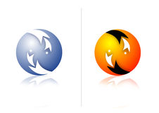 Modern logos Stock Photos
