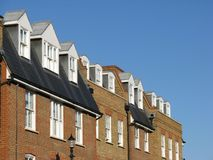 Modern London Apartments. A row of modern apartments in Winchmore Hill, London Stock Image