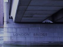 London Bridge - London, England UK stock photo