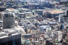 Modern London city Stock Photo