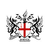 Modern London Coat Of Arms Vector Stock Image