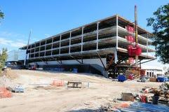Modern long building under construction, Florida, USA Royalty Free Stock Image
