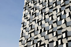 Modern Looking Faceted Building Stock Image