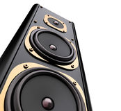 Modern loudspeaker Stock Photo