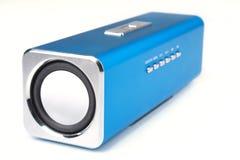 Modern Loudspeaker. Close up modern loudspeaker on a white background Stock Photos