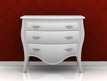 Modern Louis dresser Royalty Free Stock Photos