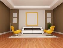 Modern lounge Stock Photography