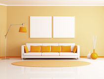 Modern lounge Royalty Free Stock Image