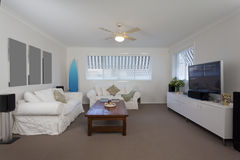 Modern lounge room Stock Photography