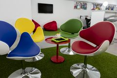 Modern lounge space in a school or an office Royalty Free Stock Image