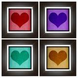 Modern love frame Stock Photos