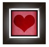 Modern love frame Royalty Free Stock Photo