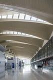 Modern luchthaven eindbinnenland Royalty-vrije Stock Foto's