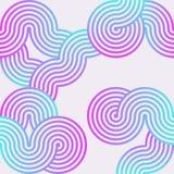 Modern lufttapet i blå rosa färgfärg Arkivfoton