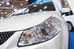 Modern luminescent lamp of a car Stock Photography