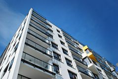 Modern, LuxeFlatgebouw Royalty-vrije Stock Afbeelding