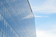 Modern, LuxeFlatgebouw Stock Fotografie