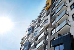 Modern, LuxeFlatgebouw Royalty-vrije Stock Afbeeldingen
